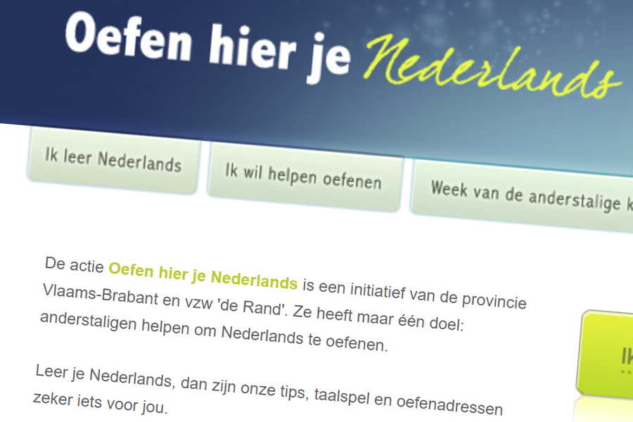 Website Oefen hier je Nederlands